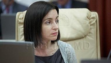 Maia Sandu vrea mai mulţi miniştri şi mai multe ministere în Guvernul pe care îl conduce de mai puţin de două săptămâni