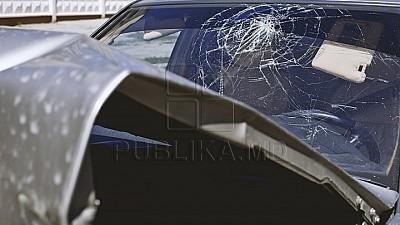 TRAGEDIE într-o localitate din raionul Glodeni. O bătrână A MURIT PE LOC după ce a fost lovită cu maşina de un şofer BEAT CRIȚĂ