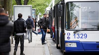 Statistică: Locuitorii Capitalei aleg să se deplaseze prin oraș cu troleibuzul
