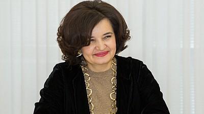 O lecţie cu ministrul. Monica Babuc a predat disciplina Educaţie pentru Societate elevilor din raionul Călăraşi