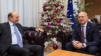 Pavel Filip a avut o întrevedere cu Traian Băsescu. Ce au discutat cei doi oficiali