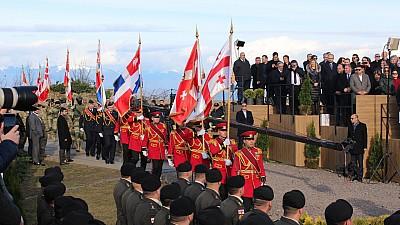 Ceremonie grandioasă în Georgia. Salome Zurabishvili a devenit oficial preşedinte al ţării