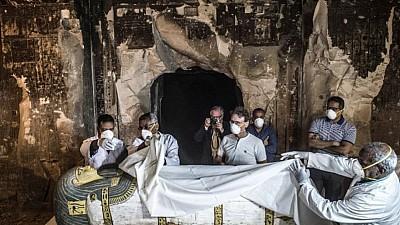 Imaginea zilei: În Egipt a fost descoperit un mormânt care a aparţinut unui înalt funcționar din cea de-a 5-a dinastie a faraonilor