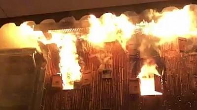 TRAGEDIE într-o familie din raionul Ungheni. O femeie de 73 de ani A MURIT, după ce locuința în care se afla a luat foc