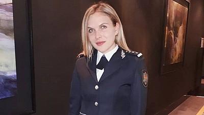 Poliţista Natalia Cipilencu a luat locul I la Concursul Republican de Atletism
