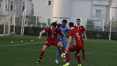 Echipa naţională de fotbal a Moldovei a pierdut cu 0-1 amicalul cu reprezentativa Kazahstanului