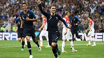 Să vină campionii! Fotbaliştii echipei naţionale a Franţei se antrenează din greu înainte de meciul cu Moldova