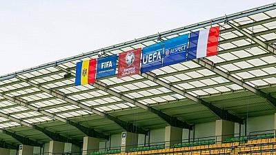 Să vină campionii! Pe stadionul Zimbru se fac ultimele pregătiri înainte de marele meci Moldova - Franța