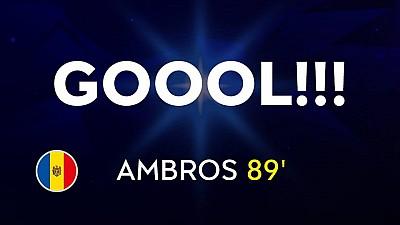 Vlad Plahotniuc: Felicitări, Vladimir Ambros! Un gol marcat în poarta campioanei mondiale e un motiv de mândrie pentru orice fotbalist
