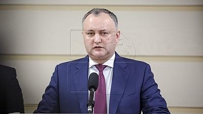 Șeful statului, Igor Dodon, cheamă reprezentanţii partidelor care au acces în Parlament la consultări