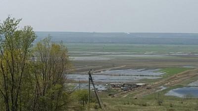 Peste o mie de hectare de teren agricol din raionul Cahul au ajuns sub apă