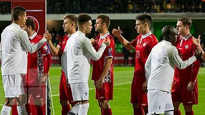 Meciul anului s-a jucat pe stadionul Zimbru. Partida s-a terminat cu scorul de 4 - 1 pentru Franța