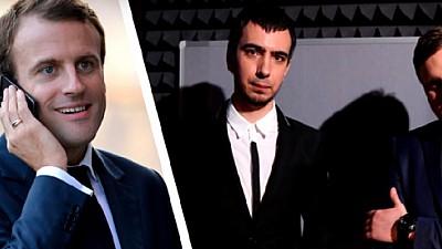 Emmanuel Macron ar fi fost tras pe sfoară de către doi comedianți ruși. Cum comentează reprezentații preşedinției Franţei