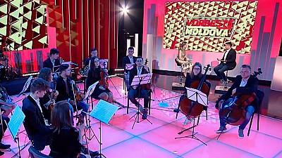 Concert extraordinar la Vorbește Moldova. Moldovan National Youth Orchestra a făcut spectacol