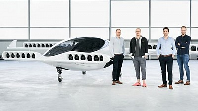 Transportul viitorului. În Germania a fost lansat cu succes un taxi zburător cu cinci locuri