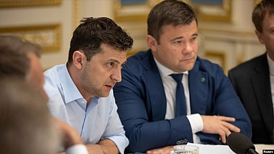 Vladimir Zelenski l-a numit avocatul oligarhului Igor Kolomoiski șeful administrației prezidențiale