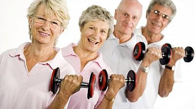 Aproximativ 160 de vârstnici au participat astăzi la olimpiada naţională sportivă a persoanelor în etate la Drochia