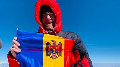 A CUCERIT EVERESTUL! Un moldovean a ajuns pe cel mai înalt punct de pe planetă