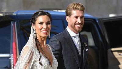 Nunta anului: Sergio Ramos s-a casatorit