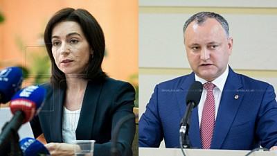 La două săptămâni de la crearea alianţei Sandu - Dodon, o nouă delegaţie de oficiali europeni a venit la Chişinău