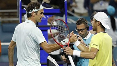 Radu Albot s-a antrenat cu Roger Federer la Wimbledon