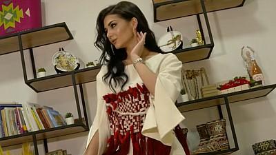 Interpreta Keya își coase singură hainele scenice. Ce o inspiră pe artistă (VIDEO)