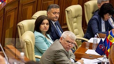 Monica Babuc a fost numită în funcția de vicepreședinte al Parlamentului