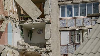 Blocul avariat de la Otaci va fi demolat de un agent economic contractat de autorităţi
