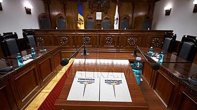 Concursul pentru funcţia de judecător al Curţii Constituţionale a fost prelungit. Câte candidaturi sunt înregistrate