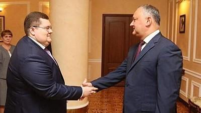 Fratele lui Igor Dodon, co-proprietarul companiei de construcţii fondată de fiul procurorului general al Rusiei