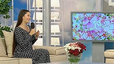 Irina Kovalsky, invitată la Prima Oră. Interpreta este însărcinată cu al treilea copil și s-a mutat la casă nouă (VIDEO)