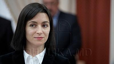 Maia Sandu, sigură de anticipate. Prim-ministra speră să se menţină la guvernare cel puţin un an