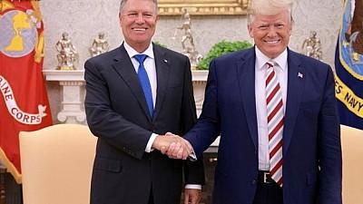 Klaus Iohannis a avut o întrevedere cu Donald Trump. Despre ce au discutat cei doi oficiali